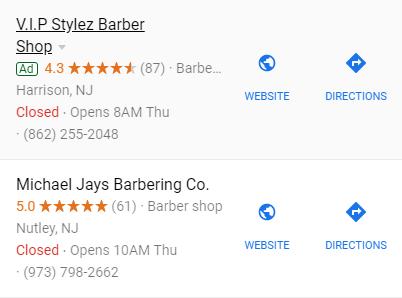 Google Sponsored Ads
