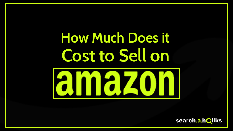 How much it cost to sell on Amazon - title