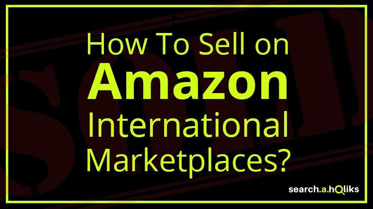 Amazon International Marketplace