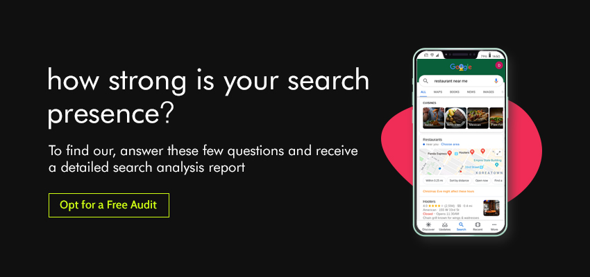 Local SEO Agency - Free Audit Analysis
