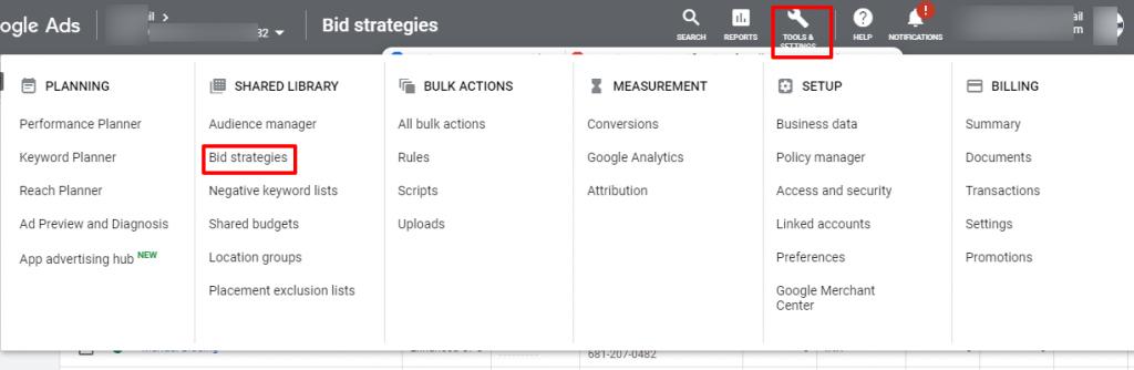 Bid strategies_tool_icon